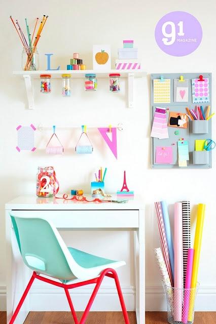 γραφείο για κορίτσια-diy