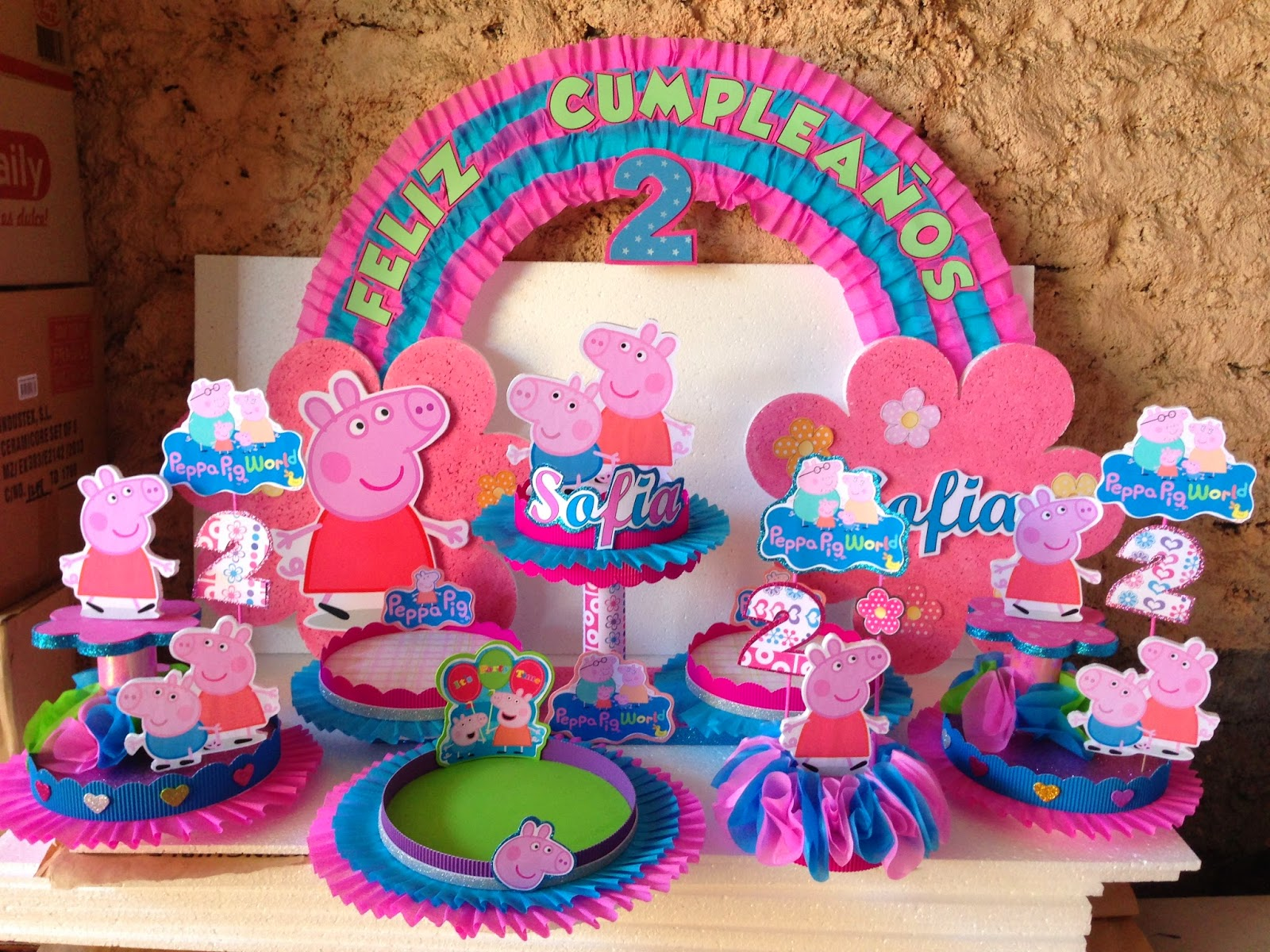 Decoraciones infantiles peppa pig for Decoracion e