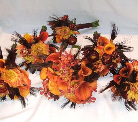 Wedding flowers wedding flowers fall for Autumn flower decoration