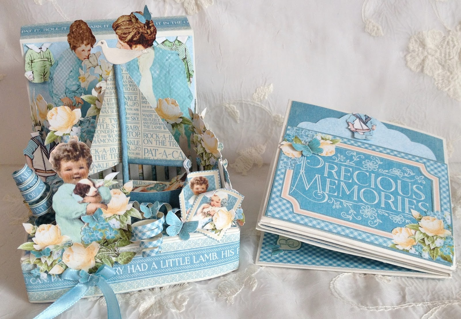 annes papercreations tutorial and measurements for the photo box album