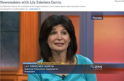 http://www.c-span.org/video/?327723-1/newsmakers-lily-eskelsen-garcia