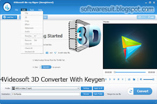 4VideoSoft 3D Converter Registration Code Generator Crack Free Download