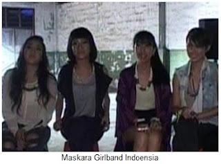 biodata maskara girlband indonesia, profil maskara girlband