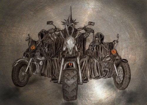 Nazgul Heavy Metal Style
