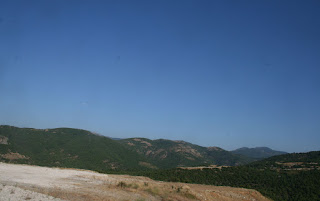 The Greek side of the border