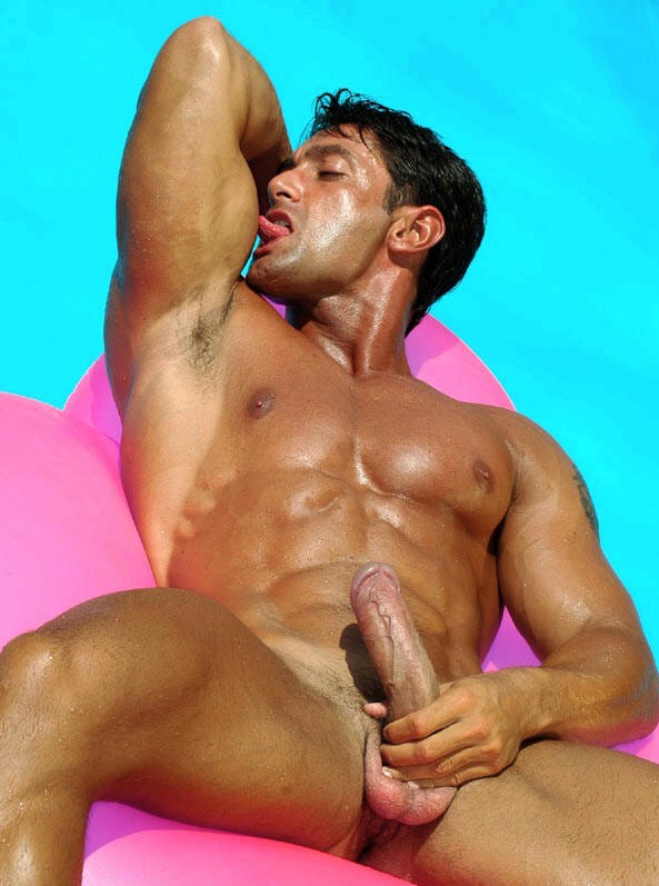 Handsome Guy With Big Cock