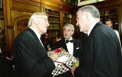 José María Gutiérrez Dopino con el Dr. Thomas H. Thomsen en 2009
