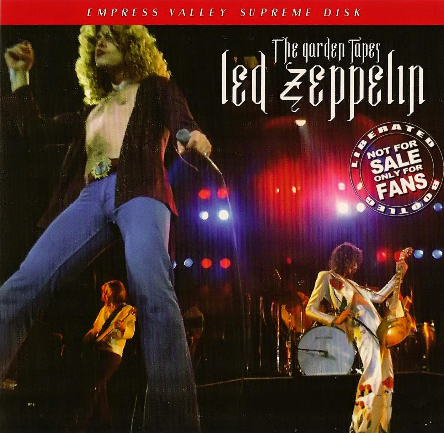 1977 - Led Zeppelin - The Garden Tapes - New York - Bootleg
