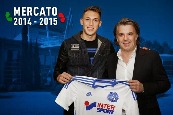Lucas Ocampos s'est officiellement engagé avec l'Olympique de Marseille