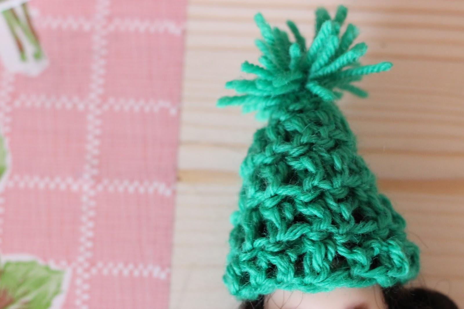 crochet mini blythe
