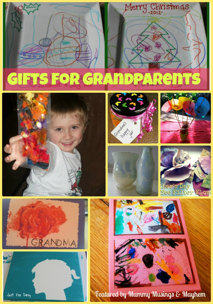 Homemade Christmas Gifts for Grandparents! - The Empowered Educator
