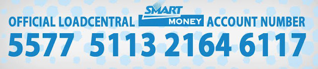 Official LoadCentral SmartMoney Account Number