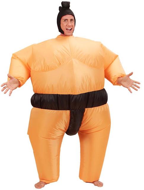 Udklædt som sumobryder