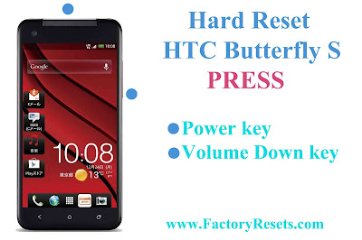 Hard Reset HTC Butterfly S