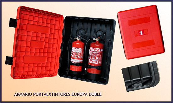 Armario extintor EUROPA, cabina portaextintor