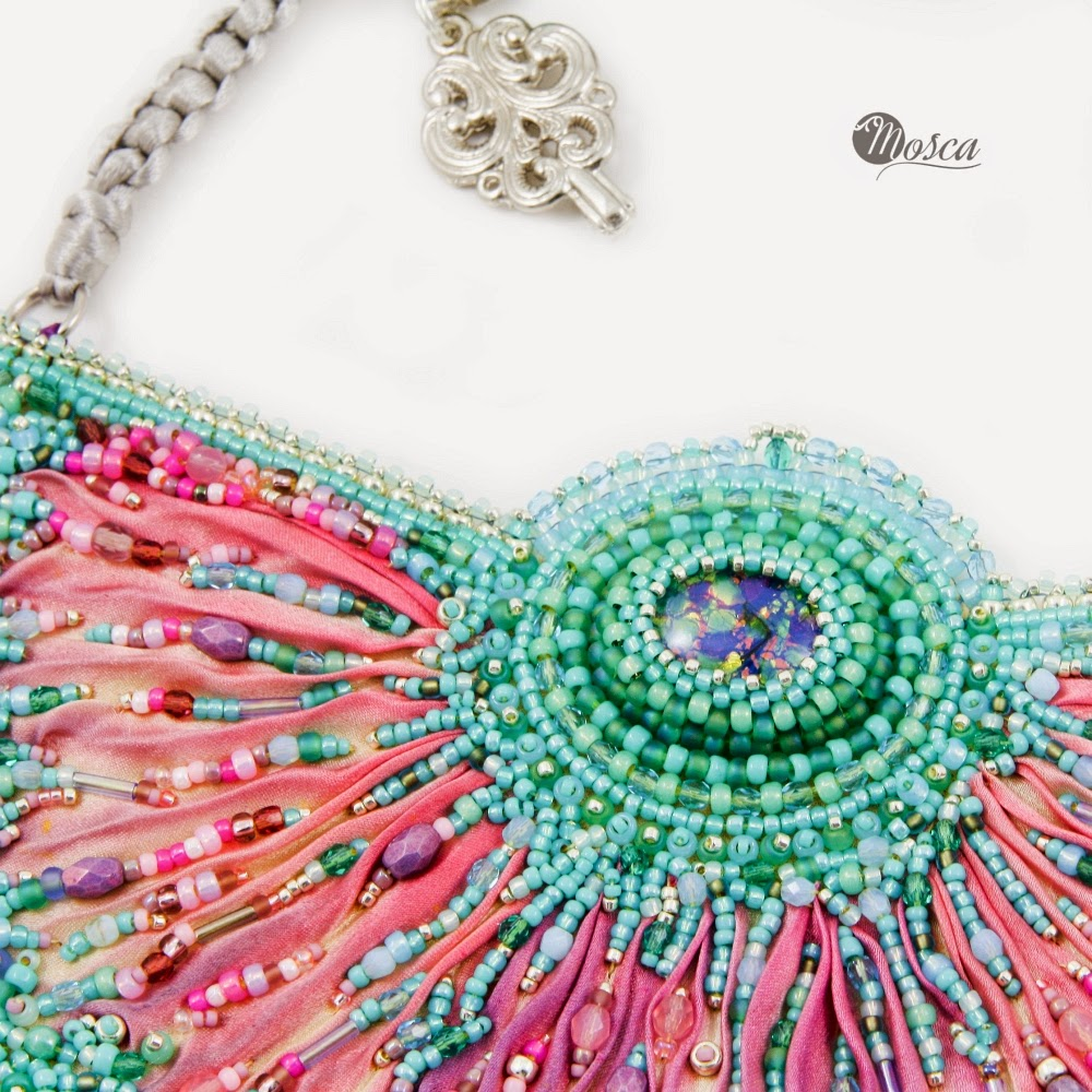 shibori jewelry