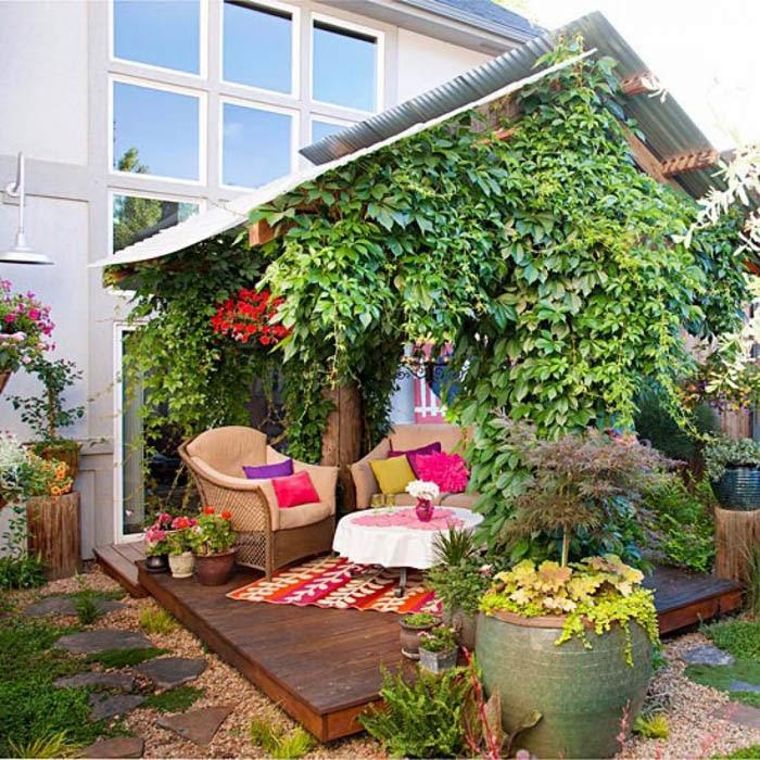 Как сделать свой двор уютней