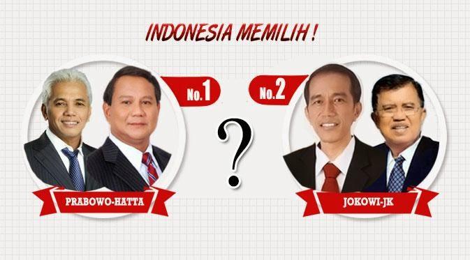#Prabowo, #Jokowi