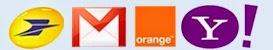 Accédez à vos Webmails préférés