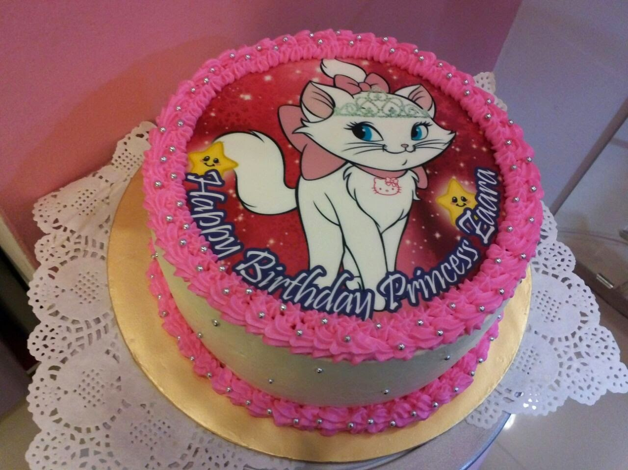 Edible Image Cake Kl : Just Lildaisy ( Ampang ): Chocolate cake with printed ...