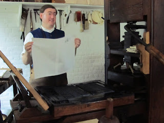 Colonial Williamsburg Printing Press