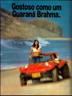 propaganda Guaraná Brahma - 1975.1975. propaganda década de 70. Oswaldo Hernandez. anos 70. Reclame anos 70