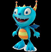 Cartoon Characters Henry Hugglemonster Png