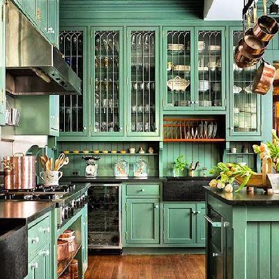 Via Elle Decor   Kelly Wearstler Designed Kitchen For Cameron Diazu0027s West  Village Apartment