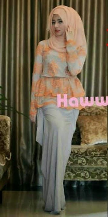 20 contoh model baju pesta muslim modern remaja terbaik Foto baju gamis anak muda terbaru