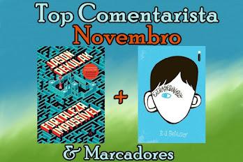 #Top Comentarista - Novembro!