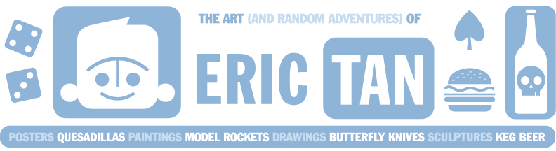 The Art (and Random Adventures) of Eric Tan