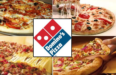 Dominos Pizza offer 50% dengan pembelian pizza Online