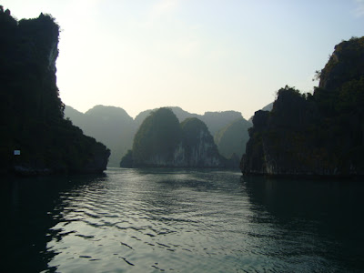 Islotes en la Bahia de Halong