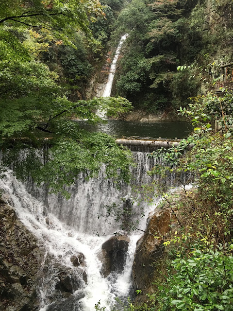 kobe nunobiki fall waterfall japan