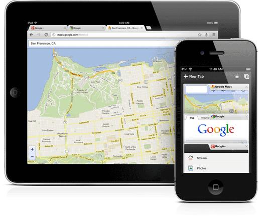 تحميل برنامج جوجل كروم 2013 للايفون والايباد Download Google Chrome Iphone Ipad