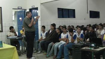 BEZERROS - PE - PALESTRAS EM SAPUCARANA - E.I.R.B. - AGOSTO DE 2011