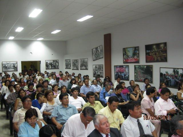 EXITOSO CONGRESO REGIONAL DEL SUTE LIMA