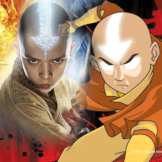 Avatar Aang VS Avatar 3D | Awesome Desktop Wallpaper