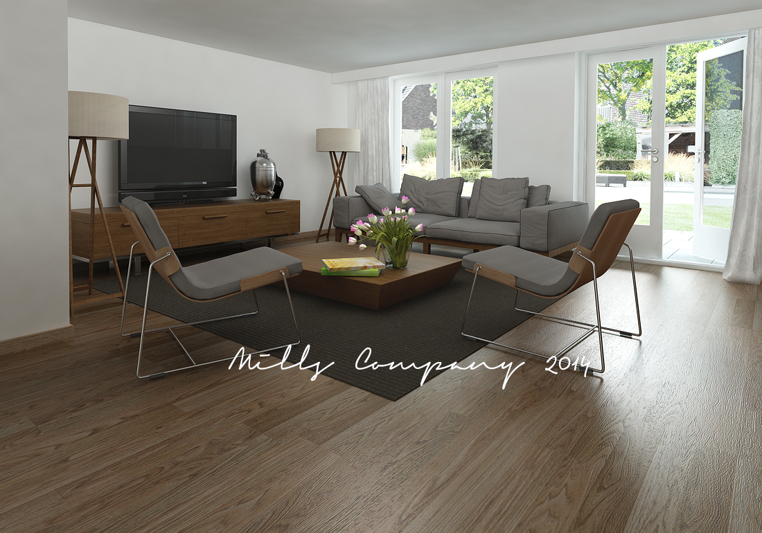 mills company interieur hout