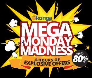 Konga mega Monday madness banner
