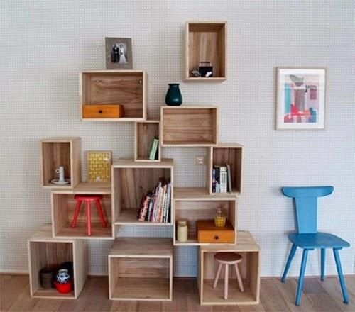 Decoración cajas de madera