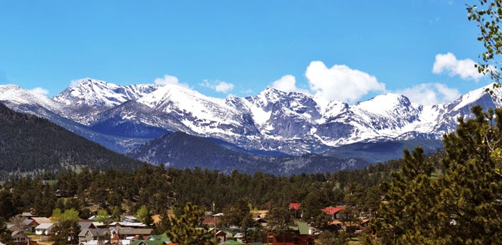 Estes Park view from The Stanley Hotel by Jessica Mack aka SweetDivergence