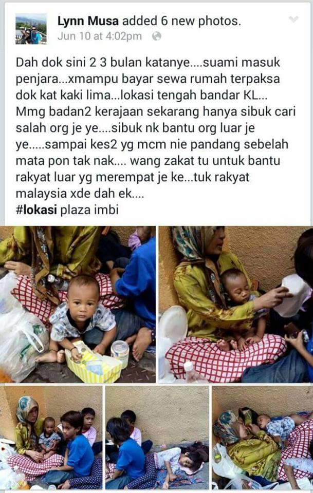 Suami Dipenjara Isteri Melarat?! #AnakKL #UMNOWP #WilayahPrihatin