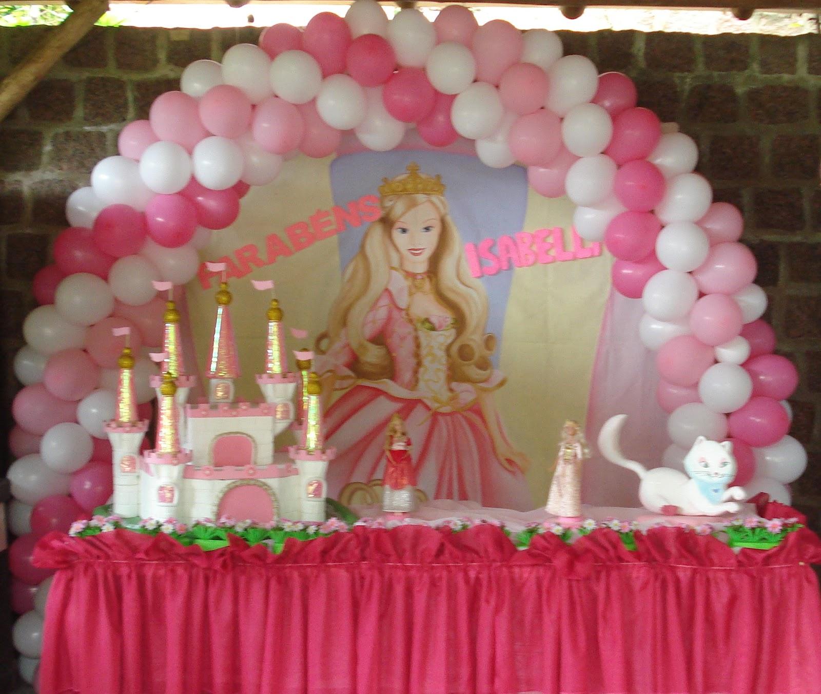 decoracao festa barbie : decoracao festa barbie:Decoracao De Festa Infantil Princesa