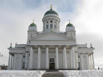 """Catedral """"blanca"""" de Helsinki"""