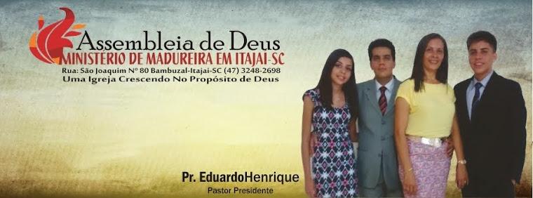 Assembleia de Deus M. de Madureira Itajai-SC