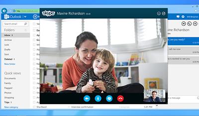 Outlook correo y Skype
