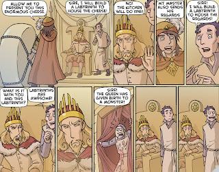 funny labyrinth comic