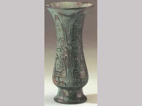 Chinese bronze Zhi