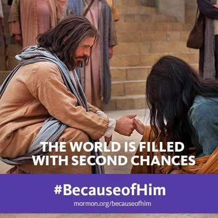 #BecauseofHim